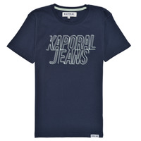 Textil Rapaz T-Shirt mangas curtas Kaporal MAIL Marinho
