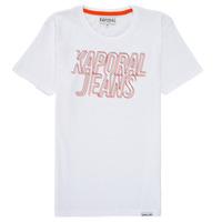 Textil Rapaz T-Shirt mangas curtas Kaporal MAIL Branco