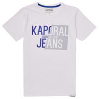 Textil Rapaz T-Shirt mangas curtas Kaporal MAYO Branco