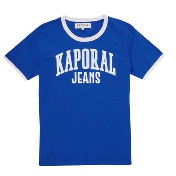 Textil Rapaz T-Shirt mangas curtas Kaporal METRO Azul