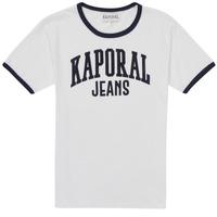 Textil Rapaz T-Shirt mangas curtas Kaporal METRO Branco