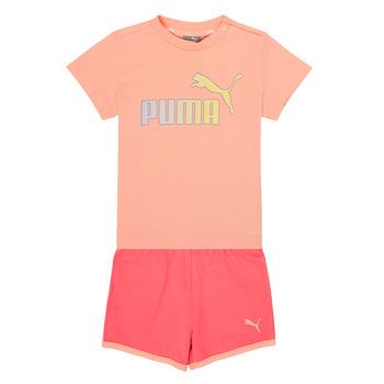 Textil Rapariga Conjunto Puma BB SET ABRI Rosa