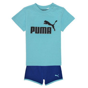 Textil Rapaz Conjunto Puma BB SET ANGEL Azul