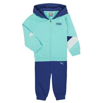 Textil Rapaz Conjunto Puma BB MINICATS REBEL Azul