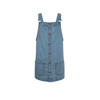 Textil Rapariga Vestidos curtos Pepe jeans CHICAGO PINAFORE Azul