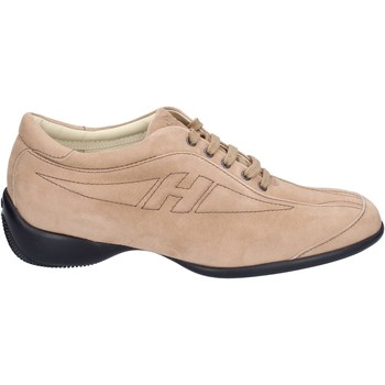Sapatos Mulher Sapatilhas Hogan BK586 Bege