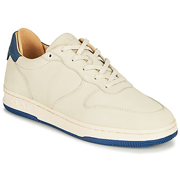 Sapatos Sapatilhas Clae MALONE Bege / Azul