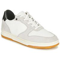 Sapatos Sapatilhas Clae MALONE Branco / Cinza