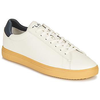 Sapatos Sapatilhas Clae BRADLEY CACTUS Branco / Azul