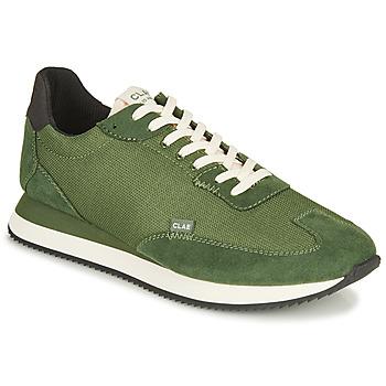 Sapatos Homem Sapatilhas Clae RUNYON Verde