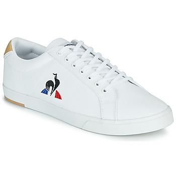 Sapatos Homem Sapatilhas Le Coq Sportif VERDON II Branco / Castanho