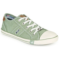 Sapatos Mulher Sapatilhas Mustang NATHALIA Verde / Claro