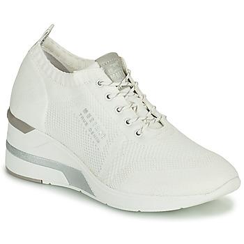 Sapatos Mulher Sapatilhas de cano-alto Mustang THALIA Branco