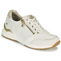 Sapatos Mulher Sapatilhas Mustang ANINTA Branco / Ouro