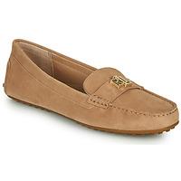 Sapatos Mulher Mocassins Lauren Ralph Lauren BARNSBURY FLATS CASUAL Bege