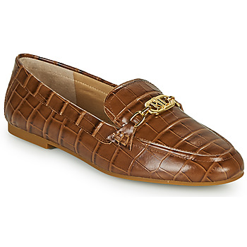 Sapatos Mulher Mocassins Lauren Ralph Lauren AVERI Conhaque