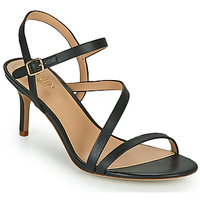 Sapatos Mulher Sandálias Lauren Ralph Lauren LANDYN Preto