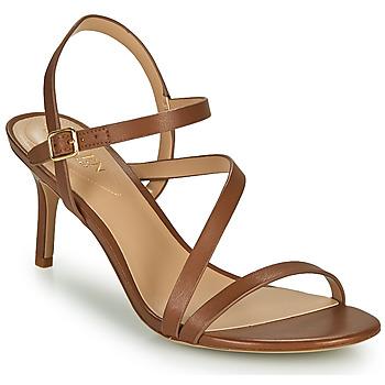 Sapatos Mulher Sandálias Lauren Ralph Lauren LANDYN Conhaque