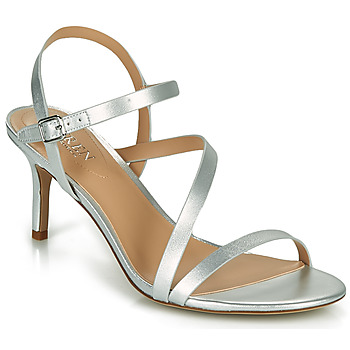 Sapatos Mulher Sandálias Lauren Ralph Lauren LANDYN Prata