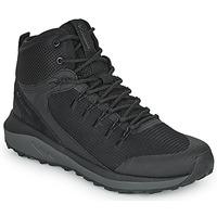 Sapatos Homem Sapatos de caminhada Columbia TRAILSTORM MID WATERPROOF Preto