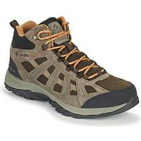 Sapatos Homem Sapatos de caminhada Columbia REDMOND III MID WATERPROOF Castanho