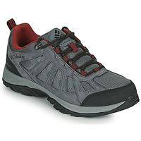Sapatos Homem Sapatos de caminhada Columbia REDMOND III WATERPROOF Cinza
