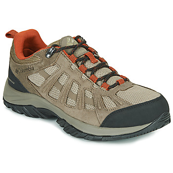 Sapatos Homem Sapatos de caminhada Columbia REDMOND III WATERPROOF Castanho