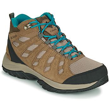 Sapatos Mulher Sapatos de caminhada Columbia REDMOND III MID WATERPROOF Bege
