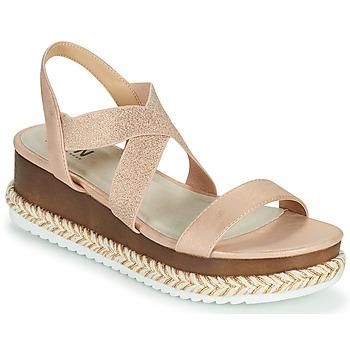 Sapatos Mulher Sandálias Elue par nous JELLYA Rosa / Prata