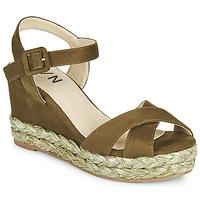 Sapatos Mulher Sandálias Elue par nous JOHAN Verde