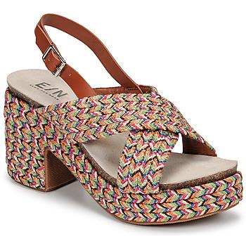 Sapatos Mulher Sandálias Elue par nous JOMARIN Bege