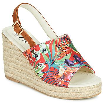 Sapatos Mulher Sandálias Elue par nous JOTTA Vermelho