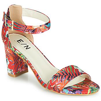 Sapatos Mulher Sandálias Elue par nous JOUAL Vermelho