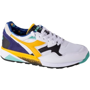 Sapatos Homem Sapatilhas Diadora N9002 Kromadecka Branco, Azul, Amarelo