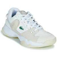 Sapatos Mulher Sapatilhas Lacoste T-POINT 0721 1 G SFA Branco / Bege