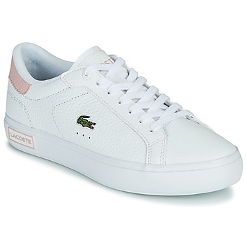 Sapatos Mulher Sapatilhas Lacoste POWERCOURT 0721 2 SFA Branco / Rosa
