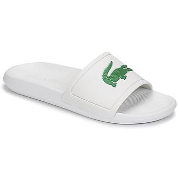 Sapatos Homem chinelos Lacoste CROCO SLIDE 119 1 CMA Branco / Verde