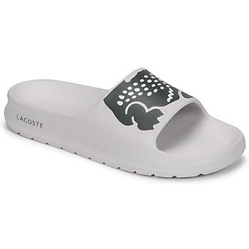 Sapatos Mulher chinelos Lacoste CROCO 2.0 0721 1 CFA Branco / Preto
