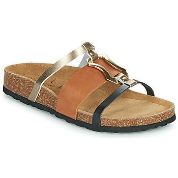 Sapatos Mulher Chinelos Metamorf'Ose JA Castanho