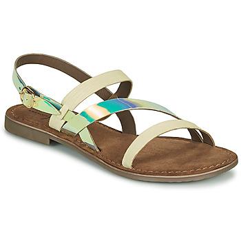 Sapatos Mulher Sandálias Metamorf'Ose JALADIN Branco