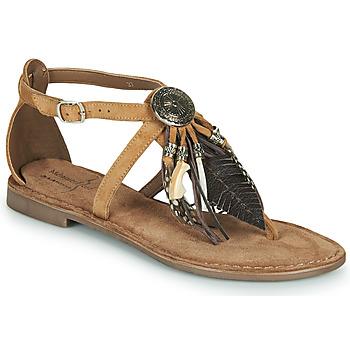 Sapatos Mulher Sandálias Metamorf'Ose JALAP Bege