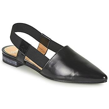 Sapatos Mulher Sandálias Perlato 11003-JAMAICA-VERNIS-NOIR Preto