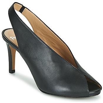 Sapatos Mulher Sandálias Perlato 11794-VENUS-NOIR Preto
