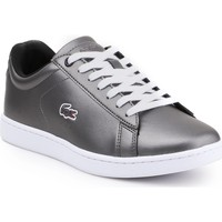 Sapatos Mulher Sapatilhas Lacoste Carnaby Evo 317 7-34SPW0010024 silver
