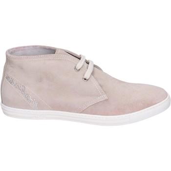 Sapatos Rapariga Mocassins NeroGiardini Botins BK596 Bege