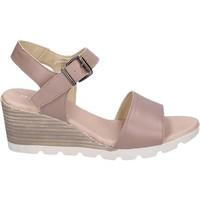 Sapatos Mulher Sandálias Rizzoli Sandálias BK598 Bege