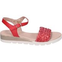 Sapatos Mulher Sandálias Rizzoli Sandálias BK603 vermelho