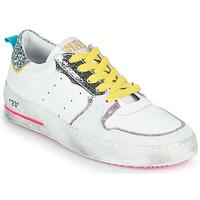Sapatos Mulher Sapatilhas Semerdjian SONA Branco / Prata