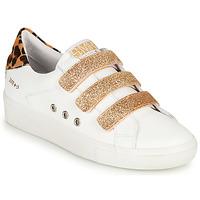 Sapatos Mulher Sapatilhas Semerdjian GARBIS Branco / Ouro