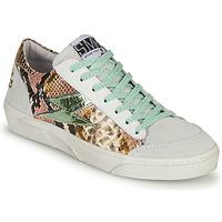 Sapatos Mulher Sapatilhas Semerdjian ELISE Branco / Castanho
